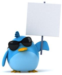 Image of bird resembling Twitter