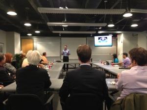 Doug Hensch Speaks at Positive Business DC Meetup
