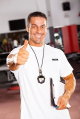 Image of a coach giving thumbs up