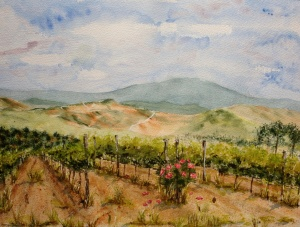 Image of Tuscan Afternoon by Marcia Moran