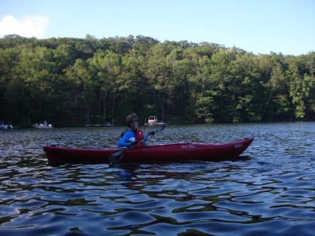 Image of Kayaking at Deep Creek Lake